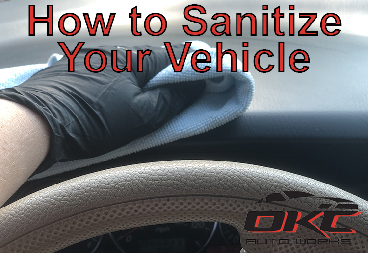 sanitizing your vehicle, how to sanitize your vehicle, DIY vehicle sanitizing