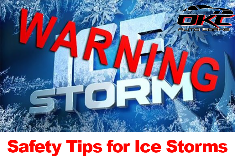Ice storms and driving in inclement weather, tips to stay warm during ice storms and winter weather