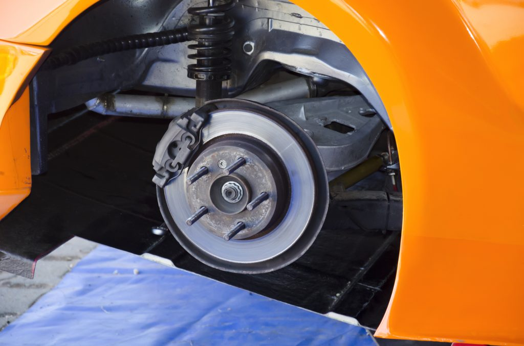 OKC Auto Works can inspect your brakes, replace brake pads, rotate wheels, perform wheel alignments, replace calipers, brake pads, and fix any tire and wheel issues you may be having.