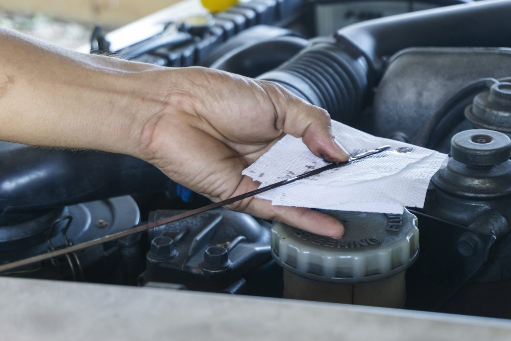 OKC Auto Works can check your motor oil, coolant, windshield wiper fluid, and brake fluid. We will top off your fluids as needed if its not time for a change, and we can change these items for you as well. OKC Auto Works can also flush your transmission.