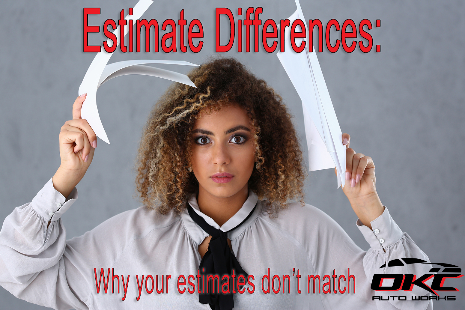 Estimate Differences. Why are my estimates different