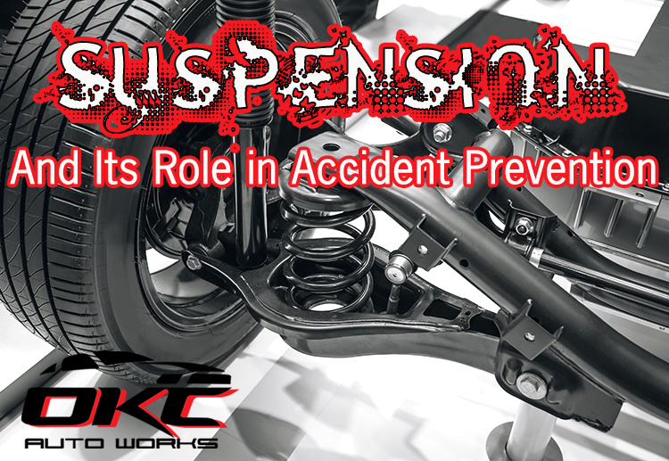 Suspension, Suspension damage, suspension repair, accident prevention, shocks and struts, driving safety, avoiding wrecks